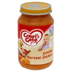 Cow & Gate 7 Mth+ Yummy Harvest Chicken 200G
