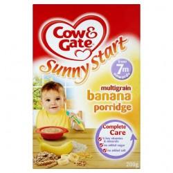 Cow &Gate 7Mths+ Multigrain Banana Porridge 200G