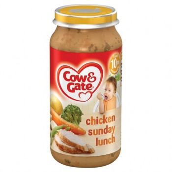 Cow & Gate Baby Balance 10 Month Chicken Sunday Lunch 250G