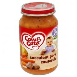 Cow & Gate Baby Balance 7 Month Succulent Pork Casserole 200G