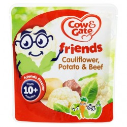 Cow & Gate Friend Cauliflower Potato And Beef 190G
