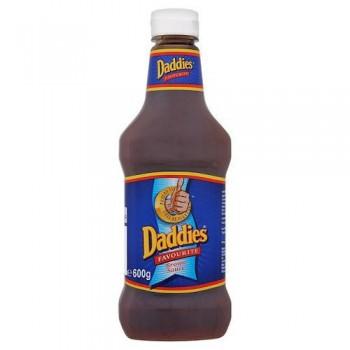 Daddies Brown Sauce Bottle 600G