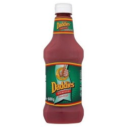 Daddies Tomato Ketchup Squeezy Bottle 600G