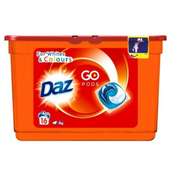 Daz Go Pods Washing Capsules 16 Washes