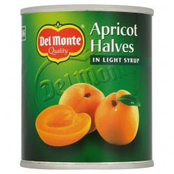 Del Monte Apricot Halves In Lt Syrup 227G