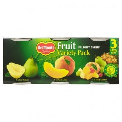 Del Monte Fruit In Syrup Variety Pack 3 X 227G