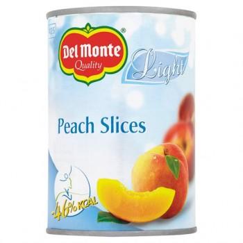 Del Monte Light Peach Slices 400G