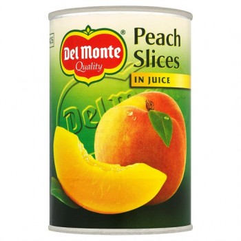 Del Monte Peach Slices In Juice 415G