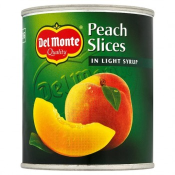 Del Monte Peach Slices In Syrup 227G