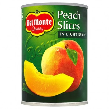 Del Monte Peach Slices In Syrup 420G