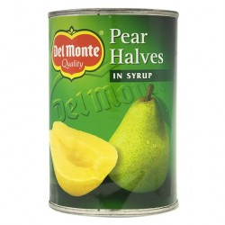 Del Monte Pear Halves In Syrup 420G