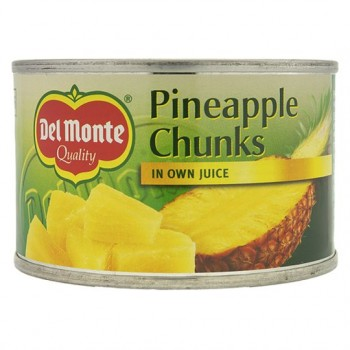 Del Monte Pineapple Chunks In Juice 227G