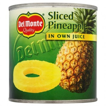 Del Monte Sliced Pineapple In Juice 435G