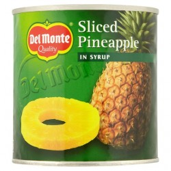Del Monte Sliced Pineapple In Syrup 425G