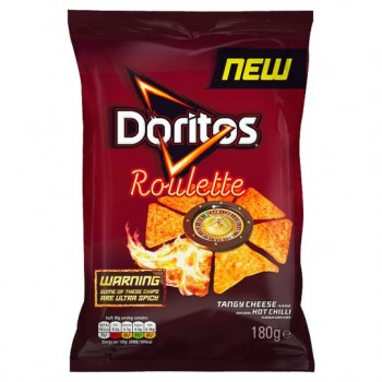 Doritos Roulette Tangy Cheese Hot Chilli 180G