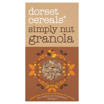 Dorset Cereals Simply Nutty Granola 550G