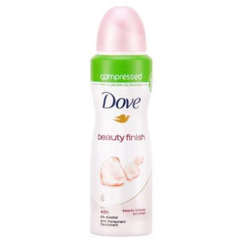 Dove Beauty Finish Antiperspirant Deodorant Compressed 125Ml