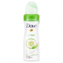 Dove Go Fresh Cucumber Antiperspirant Deodorant Compressed 125Ml