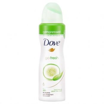 Dove Go Fresh Cucumber Antiperspirant Deodorant Compressed 125Ml