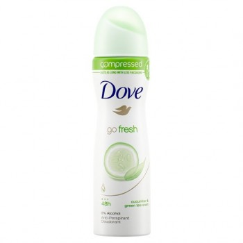 Dove Go Fresh Cucumber Antiperspirant Deodorant Compressed 75Ml