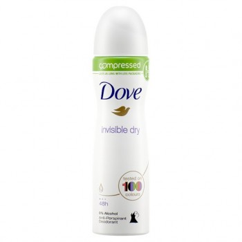 Dove Invisible Dry Antiperspirant Deodorant Compressed 75Ml