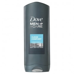 Dove Men+Care Cleancomfort Body And Face Wash 250Ml