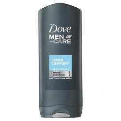 Dove Men+Care Cleancomfort Body And Face Wash 400Ml