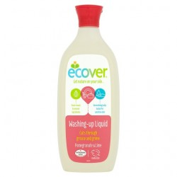 Ecover Washing Up Liquid PomeGran And Lime 500Ml