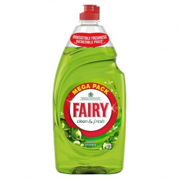 Fairy Apple Orchard Washing Up Liquid 900Ml