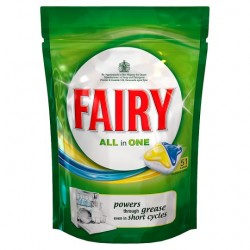 Fairy Dishwasher Tablets Lemon 51 Pack