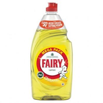Fairy Lemon Washing Up Liquid 870Ml