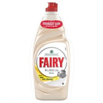 Fairy Platinum Lemon Washing Up Liquid 625Ml