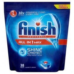 Finish All In 1 Original 38 Dishwasher Tablets
