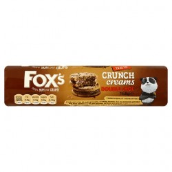 Fox's Double Chocolate Crunch Creams 168G