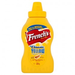 Frenchs America Classic Yellow Mustard 226G Squeezy