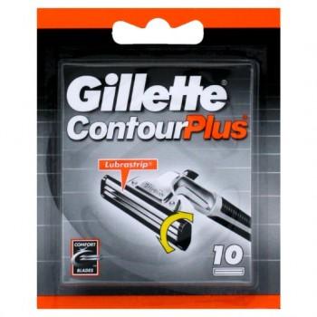 Gillette Contour Plus Razor Blades 10 Pack