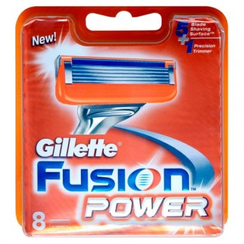 Gillette Fusion Power Razor Blades 8 Pack