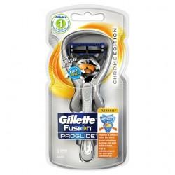 Gillette Fusion Proglide Razor Chrome Flexball