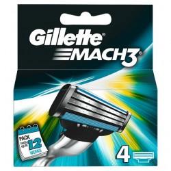 Gillette Mach 3 Blades 4S