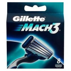 Gillette Mach 3 Razor Blades 8 Pack