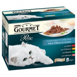 Gourmet Perle Connoisseurs Collection 12X85g