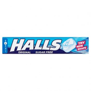 Halls Mentho Lyptus Sugar Free 9'S