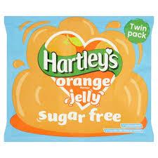 Hartleys Sugar Free Orange Jelly 23G