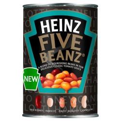 Heinz 5 Beanz In Tomato Sauce 415G