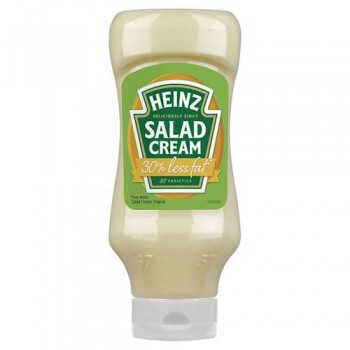 Heinz Light Salad Cream Top Down 600G