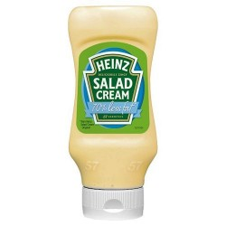 Heinz Salad Cream Extra Light Top Down 470G
