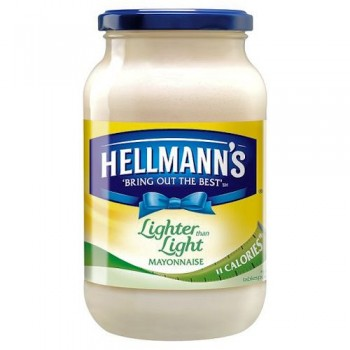 Hellmanns Extra Light Mayonnaise 600G