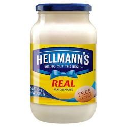 Hellmanns Real Mayonnaise 600G