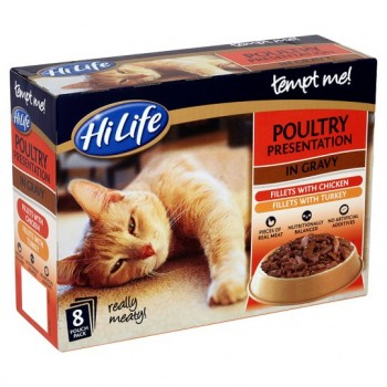 Hilife Tempt Me Poultry Multipack 8X85g