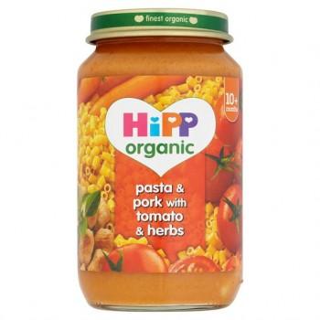 Hipp 10 Month Organic Pasta And Pork Tomato Herbs 220G